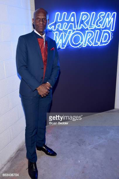 Dapper Dan attends Experience Harlem hosted by Airbnb and Ghetto Gastro on March 14 2017 in New York City