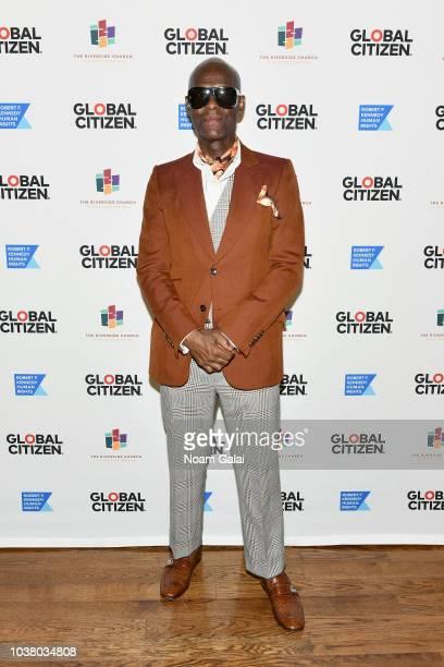 Dapper Dan attends Global Citizen Week: The Spirit Of A Movement at Riverside Church on September 22, 2018 in New York City.