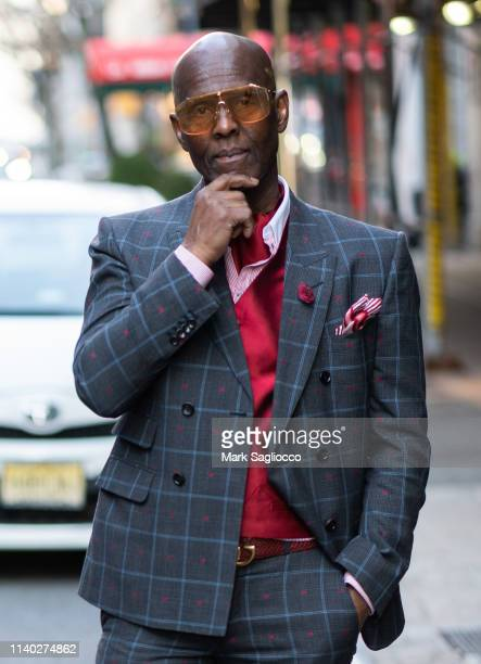 Dapper Dan attends Manhattan Magazine Celebrates New York's Men On The Move at Omars at Vaucluse on April 03, 2019 in New York City.