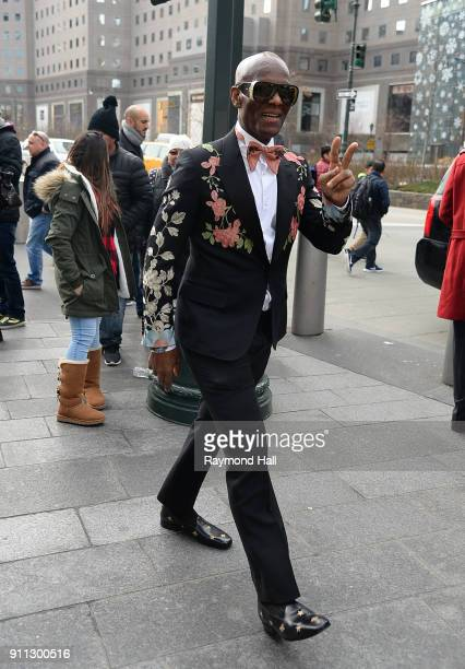 Dapper Dan attends Roc Nation THE BRUNCH on January 27 2018 in New York City