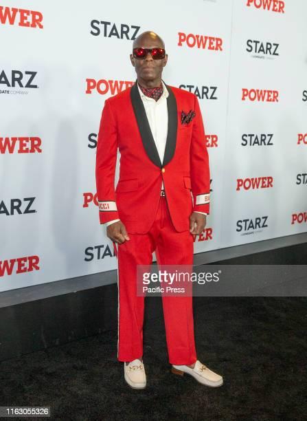 Dapper Dan attends STARZ Power Season 6 premiere at Madison Square Garden.