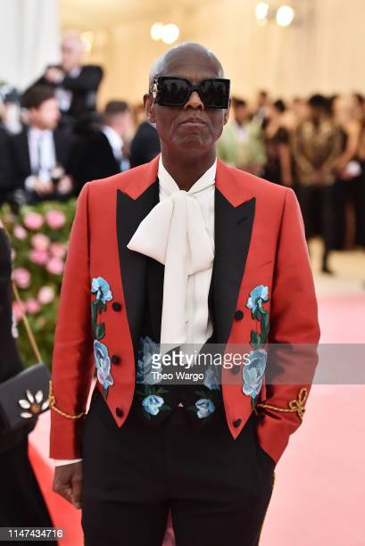 Dapper Dan attends The 2019 Met Gala Celebrating Camp Notes on Fashion at Metropolitan Museum of Art on May 06 2019 in New York City
