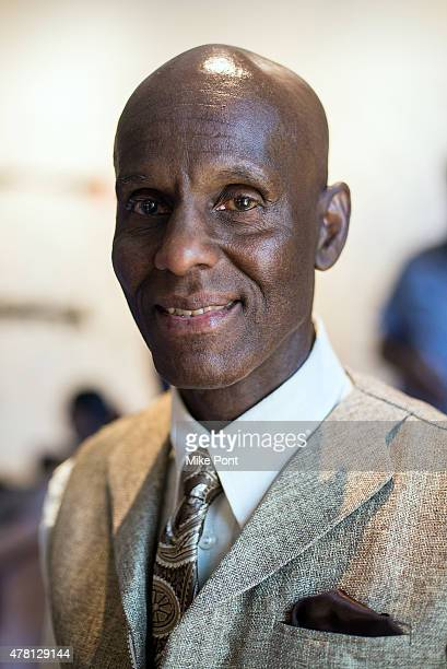"""Dapper Dan attends the AOL Build Speaker Series to discuss the film """"Fresh Dressed"""" at AOL Studios In New York on June 22, 2015 in New York City."""
