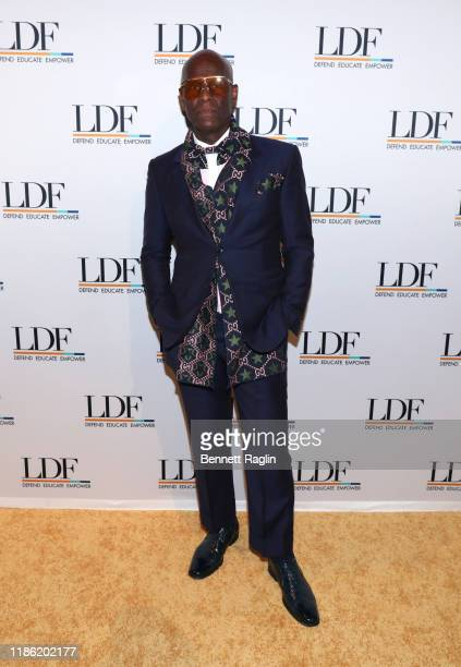 Dapper Dan attends the NAACP LDF 33rd National Equal Justice Awards Dinner at Cipriani 42nd Street on November 07, 2019 in New York City.