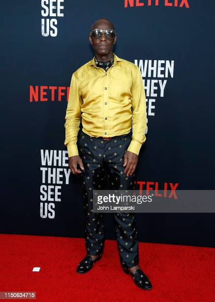 """Dapper Dan attends """"When They See Us"""" World Premiere at The Apollo Theater on May 20, 2019 in New York City."""