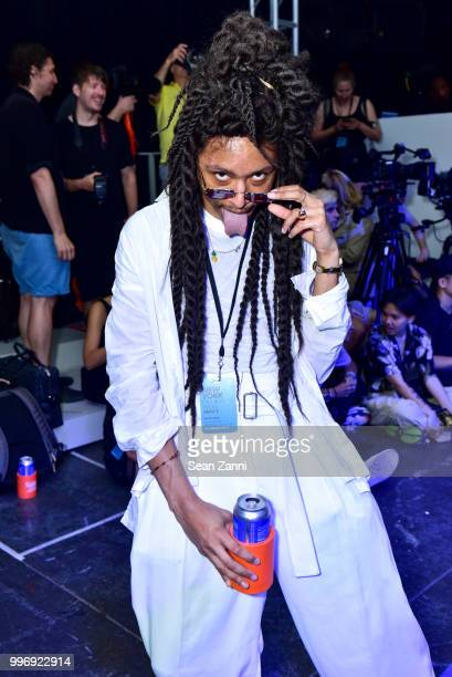 Daquane Cherry attends the Todd Snyder S/S 2019 Collection during NYFW Men's July 2018 at Industria Studios on July 11 2018 in New York City
