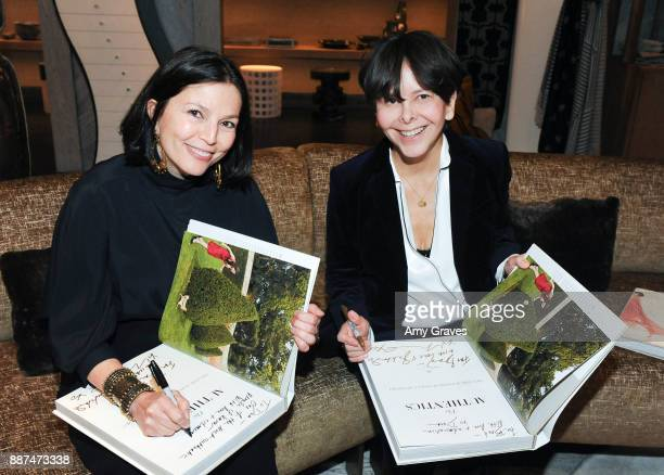 Dara Caponigro and Melanie Acevedo attend Kelly Wearstler hosts 'The Authentics' book signing launch party for Melanie Acevedo and Dara Caponigro at...
