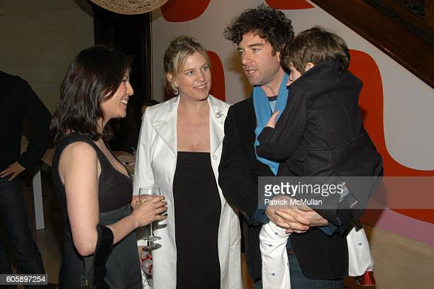 Dara Caponigro Elizabeth Netto David Netto and Kate Netto attend DOMINO Magazine party to celebrate The Woodycrest House Design Project at The...