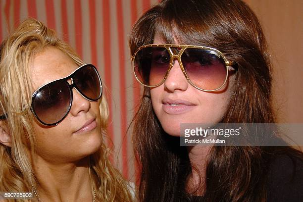 Dara Kenigsberg and Rachel Siegel attend INTERMIX Store Opening with Hampton's Magazine at INTERMIX on July 16 2005 in Southampton NY