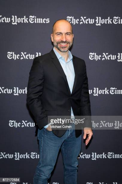 Dara Khosrowshahi attends The New York Times 2017 DealBook Conference at Jazz at Lincoln Center on November 9 2017 in New York City