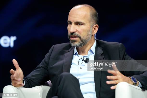 Dara Khosrowshahi CEO UBER speaks onstage during the 2019 Concordia Annual Summit Day 2 at Grand Hyatt New York on September 24 2019 in New York City