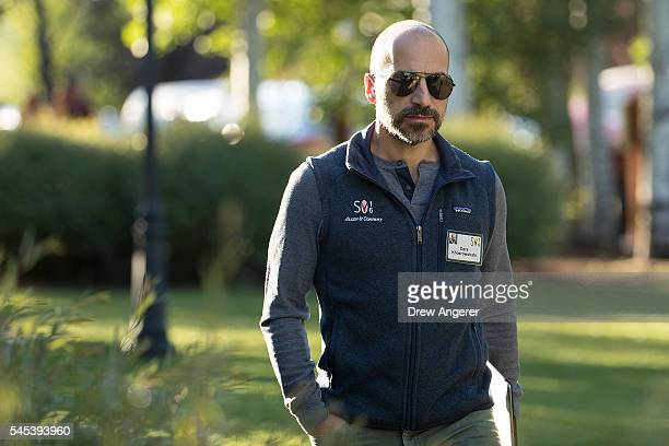 Dara Khosrowshahi chief executive officer of Expedia Inc attends the annual Allen Company Sun Valley Conference July 7 2016 in Sun Valley Idaho Every...
