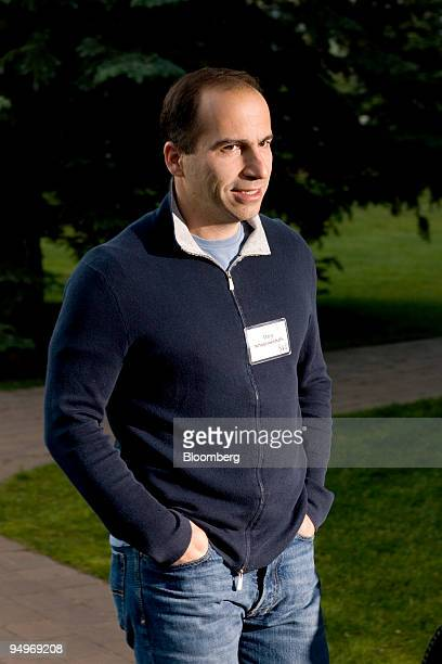 Dara Khosrowshahi president and chief executive officer of Expedia Inc arrives for a morning session during the Allen Co Media and Technology...
