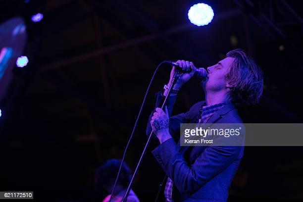 Dara Kiely of Girl Band performs at Metropolis Festival at the RDS Concert Hall on November 4, 2016 in Dublin, Ireland.