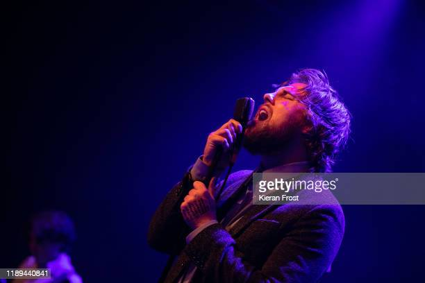 Dara Kiely of Girl Band performs live at Vicar Street on November 22 2019 in Dublin Ireland