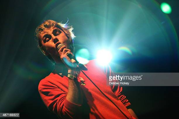Dara Kiely of Girl Band performs on day 3 of the Electric Picnic Festival at Stradbally Hall Estate on September 6 2015 in Stradbally Ireland