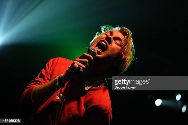 Dara Kiely of Girl Band performs on day 3 of the Electric Picnic Festival at Stradbally Hall Estate on September 6, 2015 in Stradbally, Ireland.