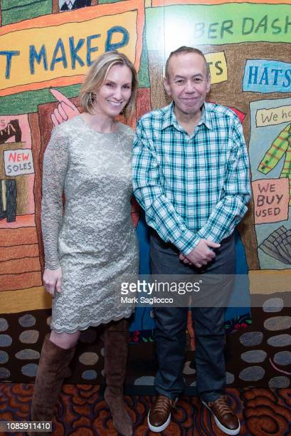 Dara Kravitz and Comedian Gilbert Gottfried attends the 2018 Museum of the Jewish People Gala at the Mandarin Oriental New York on December 17 2018...
