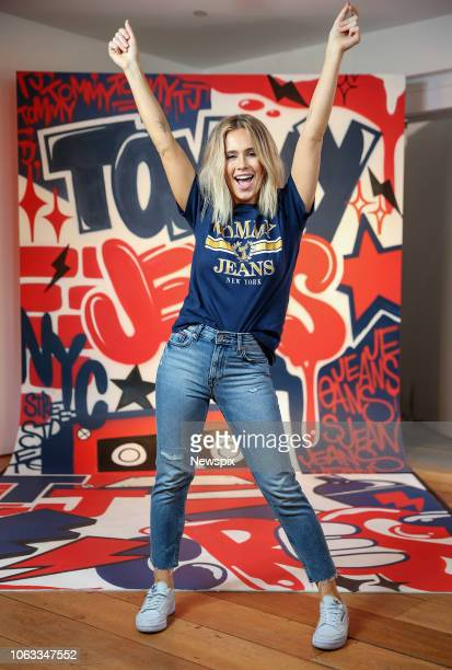f6e1ee79726049 SYDNEY NSW Dara Kristen Hayes also know as DJ Tigerlily poses at the Tommy  Hilfiger popup