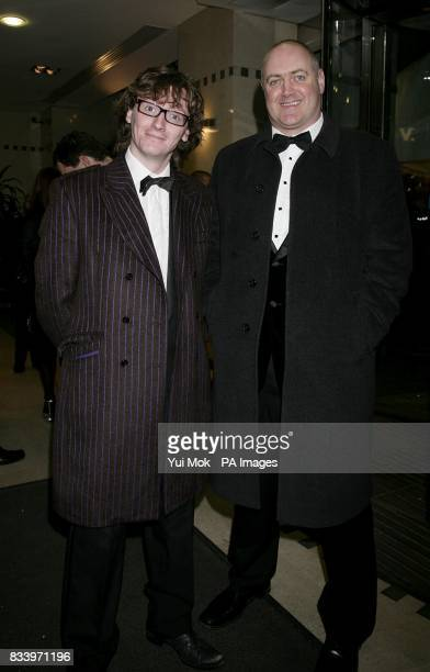 Dara O'Briain and Ed Byrne arrive for the 2007 British Comedy Awards at The London Studios Upper Ground London SE1