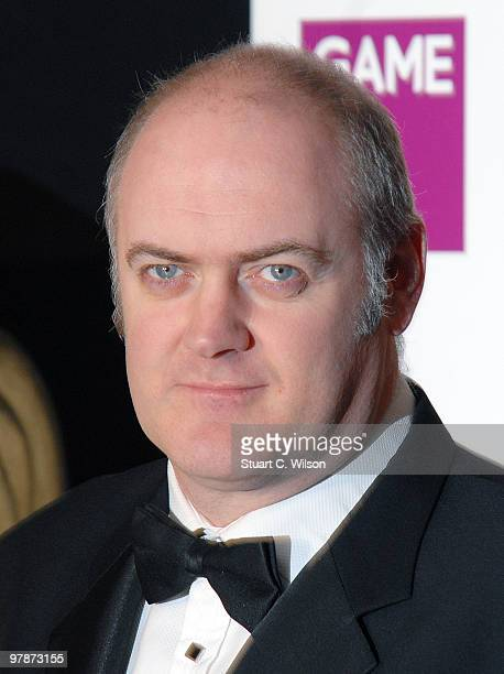 Dara O'Briain arrives for the BAFTA Video Games Awards at the Hilton Park Lane on March 19 2010 in London England