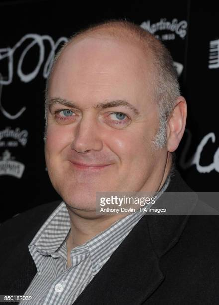 Dara O'Briain attending the opening night of Once at the Phoenix Theatre London