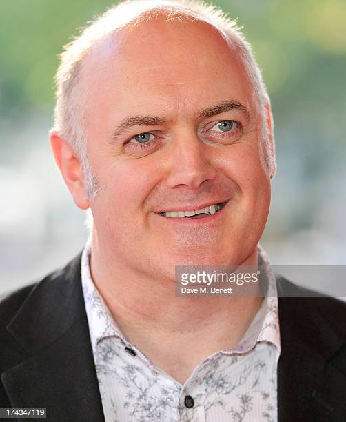 Dara O'Briain attends the London Premiere of 'Alan Partidge Alpha Papa' at Vue Leicester Square on July 24 2013 in London England