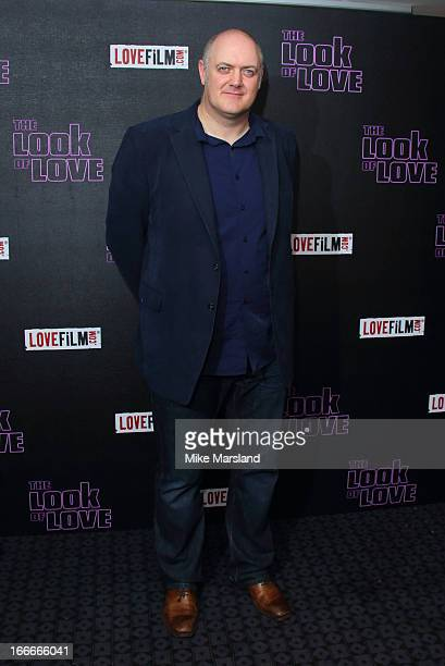 Dara O'Briain attends 'The Look Of Love' UK premiere at Curzon Soho on April 15 2013 in London England