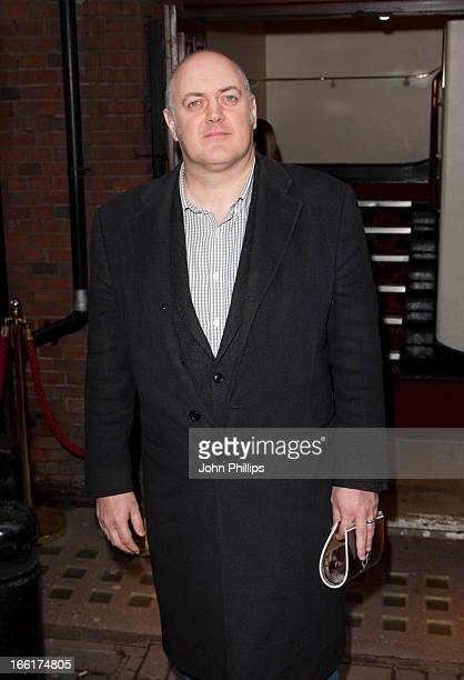 Dara O'Briain attends the press night for new musical 'Once' at Phoenix Theatre on April 9 2013 in London England