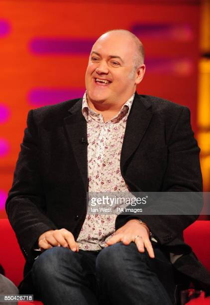 Dara O'Briain during the filming of the Graham Norton show at the London Studios in London PRESS ASSOCIATION Photo Picture date Thursday April 25...