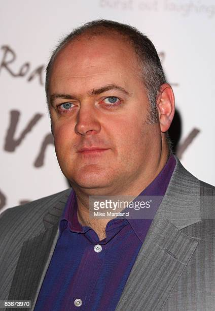 Dara O'Briain judge the Roald Dahl Funny Prize competition at Unicorn Arts Theatre on November 13 2008 in London England