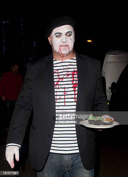 Dara O'Briain leaving Jonathan Ross Annual Halloween Party on October 31 2011 in London England