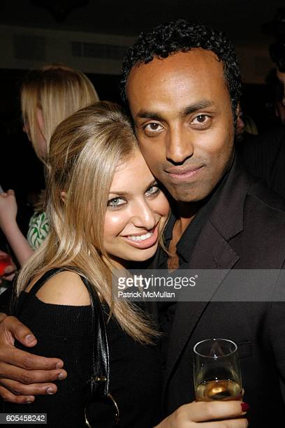 Dara Perlmutter and Desta attend FREDERICK'S Madison One Year Anniversary Party at Frederick's Madison on May 9 2006 in New York City