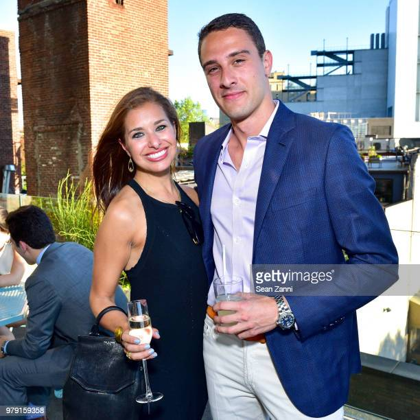 Dara Perlmutter and Will Floersheimer attend American Friends Of The Israel Museum Celebrate Summer 2018 at The High Line Room The Standard Hotel on...