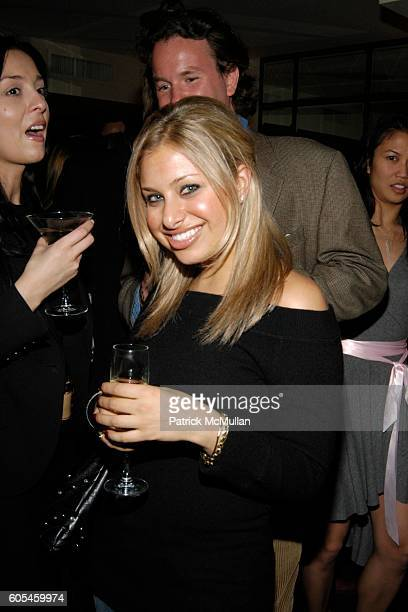 Dara Perlmutter attends FREDERICK'S Madison One Year Anniversary Party at Frederick's Madison on May 9 2006 in New York City