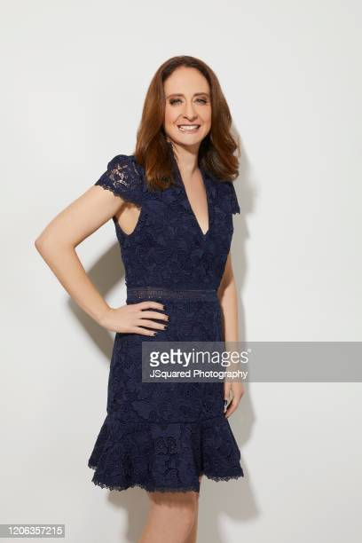 Dara Resnik of Apple TV's Home Before Dark poses for a portrait during the 2020 Winter TCA Portrait Studio at The Langham Huntington Pasadena on...