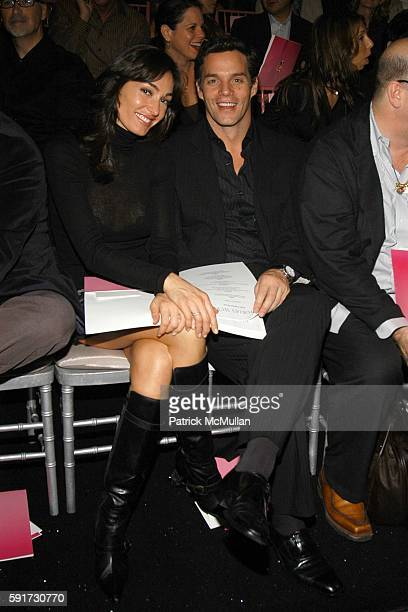 Dara Tomanovich and Bill Hemmer attend 10th VICTORIA'S SECRET FASHION SHOW Inside Arrivals and Frontrow at Lexington Avenue Armory on November 9 2005...