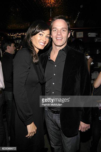 Dara Tomanovich and Bill Hemmer attend New York Magazines 3rd Annual Oscar Viewing Party at The Spotted Pig on February 24 2008 in New York City
