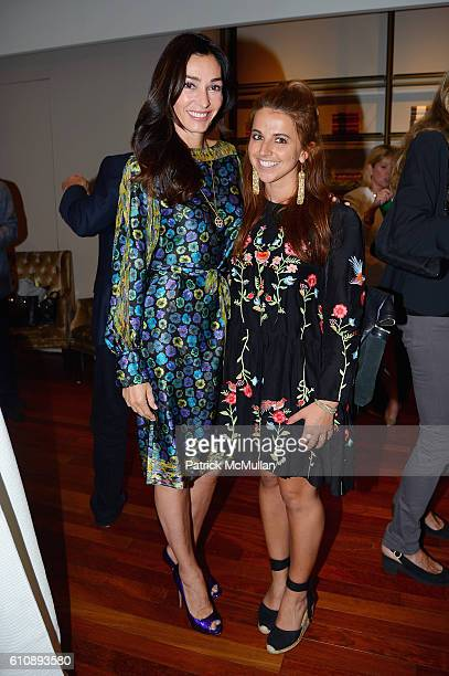 Dara Tomanovich and Guest attend the Cultural Council of Palm Beach County Previews Cultural Season at NYC's CORE Club at CORE Club on September 27...