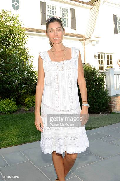 Dara Tomanovich attends VICTORIA's SECRET Supermodel Obsessions Fall Preview Event at Home of Hanna Soukupova on August 16 2008 in Sag Harbor NY