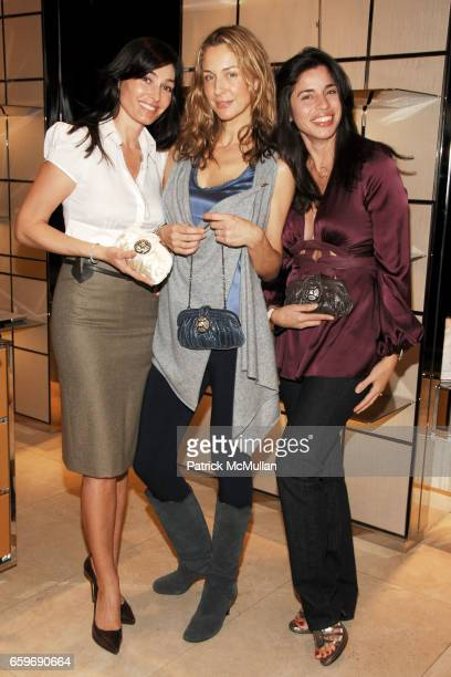 Dara Tomanovich Charlotte Assaf and Sandra Ripert attend TOD'S and VOGUE Event to Benefit SAVE VENICE at TOD'S on March 11 2009 in New York