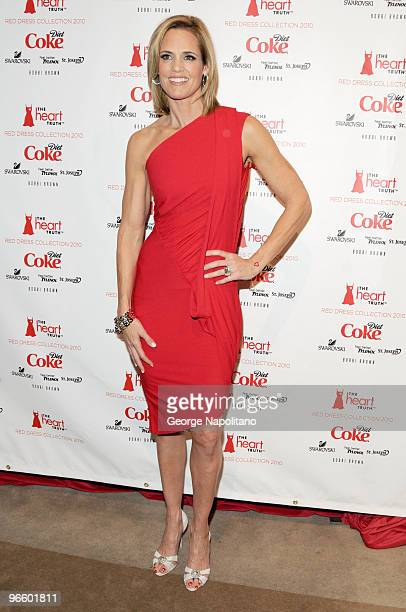Dara Torres attends the The Heart Truth Red Dress Collection Fall 2010 fashion show during MercedesBenz Fashion Week at Bryant Park on February 11...