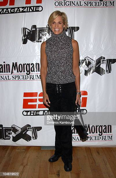 Dara Torres during Party for ESPN The Magazine's Next 2003 Athlete Year End Issue at EXIT in New York City New York United States