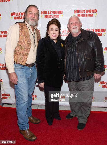Darby Hinton Donelle Dadigan and Johnny Whitaker attend 'ANNETTE America's Girl Next Door and the Queen of Teen exhibit opening night preview at The...
