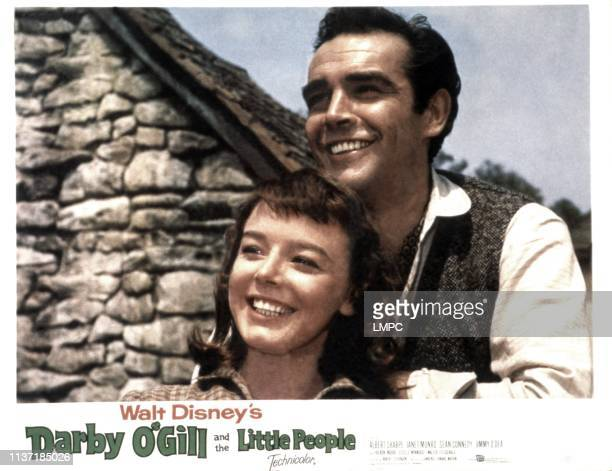 Darby O'gill And The Little People lobbycard Janet Munro Sean Connery 1959
