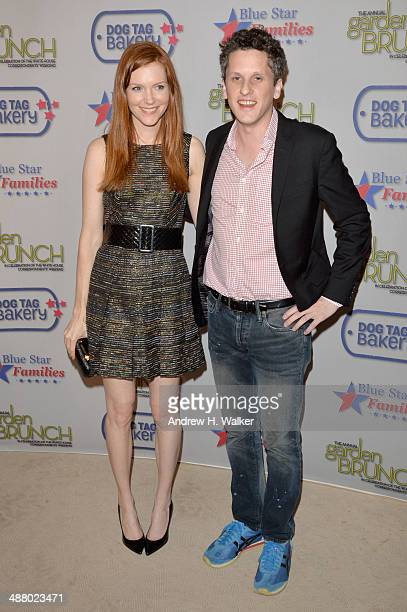 Darby Stanchfield and Aaron Levie attend the 2014 Annual Garden Brunch at the Beall-Washington House on May 3, 2014 in Washington, DC.