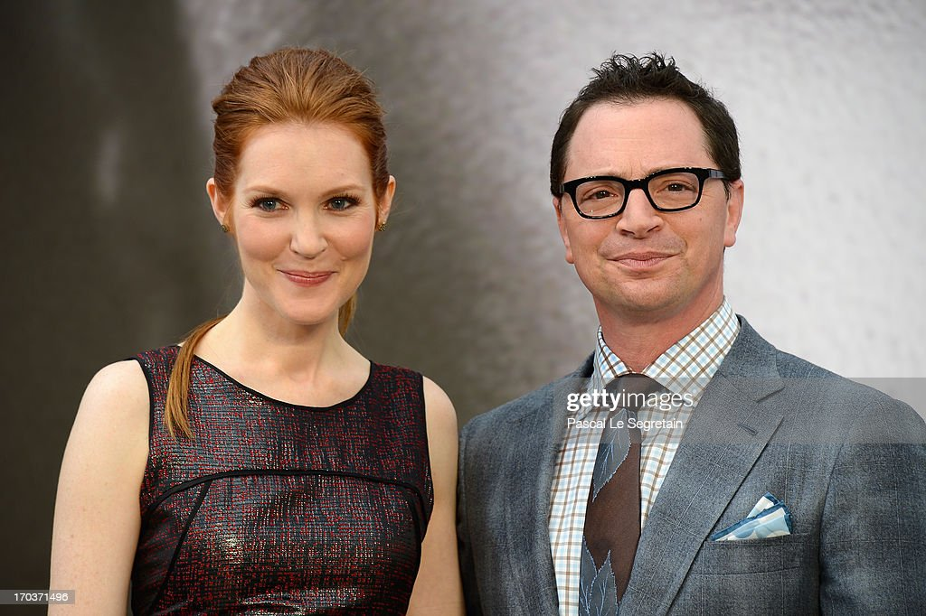 Darby Stanchfield and Joshua Malina poses at a photocall during the 53rd Monte Carlo TV Festival on June 12, 2013 in Monte-Carlo, Monaco.