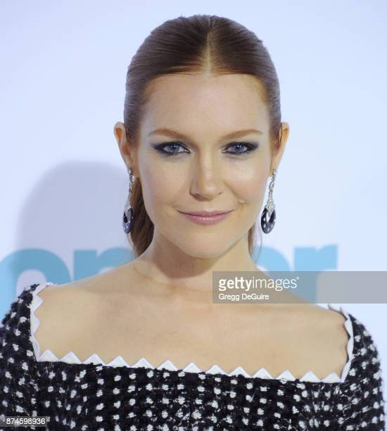 Darby Stanchfield arrives at the premiere of Lionsgate's 'Wonder' at Regency Village Theatre on November 14 2017 in Westwood California