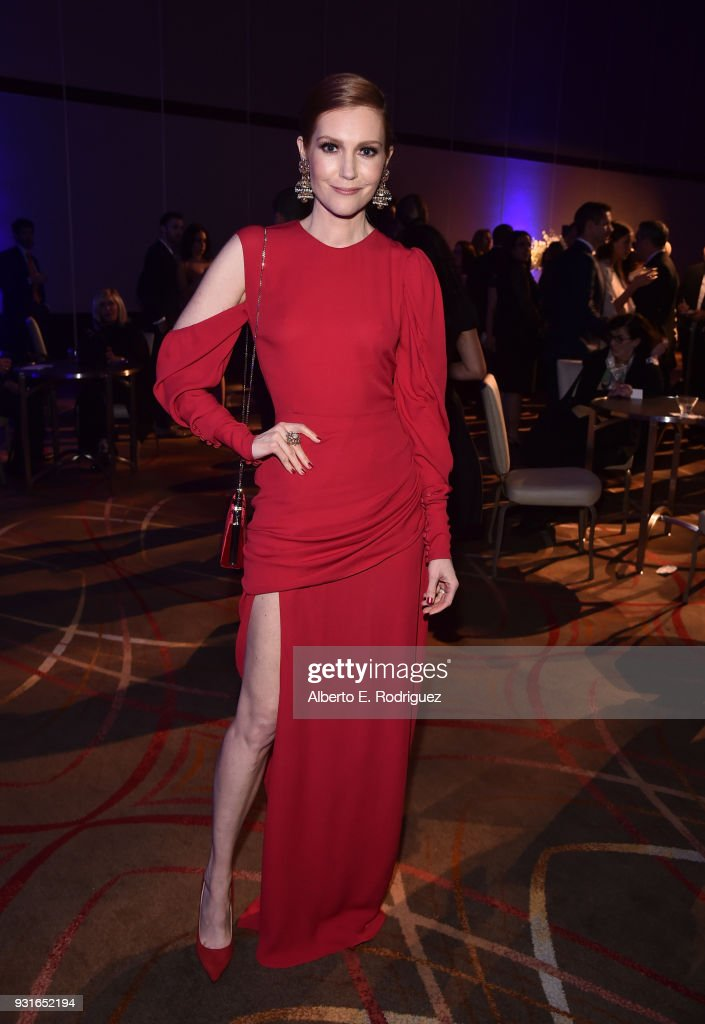 Darby Stanchfield attends A Legacy Of Changing Lives presented by the Fulfillment Fund at The Ray Dolby Ballroom at Hollywood & Highland Center on March 13, 2018 in Hollywood, California.