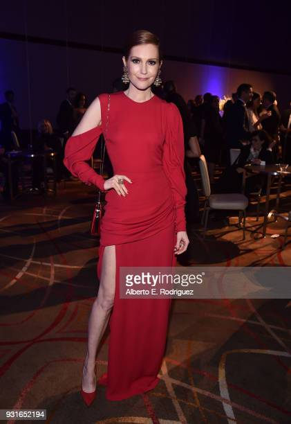 Darby Stanchfield attends A Legacy Of Changing Lives presented by the Fulfillment Fund at The Ray Dolby Ballroom at Hollywood Highland Center on...